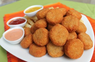 Nuggets apanados de pollo
